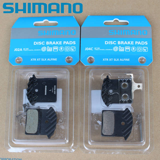 4PCS J02A Disc Brake Resin Pad for M9000 M9020 M8000 M785 M7000 as F01A