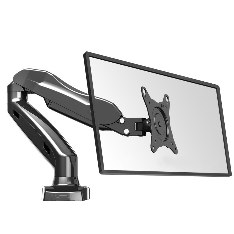 "Monitor Holder NB F80 Desktop17""-27"" LCD LED Monitor Holder Arm Gas Spring Full Motion TV Mount Bracket Loading 2-6.5kgs"