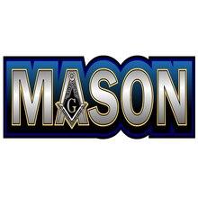 3D Car stying Prosticker   Freemasonry Masonic Mason Decal Sticker  Car Sticker Cool graphics Jdm mobile 3d graphics