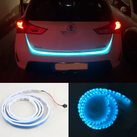 1Piece White Yellow Red Ice Blue Trunk Strip Light Dynamic Streamer For Car Auto Turn Signal