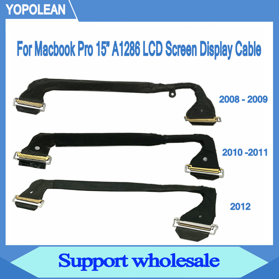 LCD Screen Display Cable For Macbook 13/'/' A1342 LCD LED LVDS Cable 2009 2010