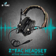 Buy Z-tac Z110 TEA Releases New  Hi-Threat Tier  Headset Softair Outdoor Headband Version directly from merchant!
