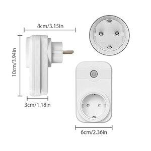 Image 2 - Ntonpower Wifi Plug Smart Eu Socket Met App Afstandsbediening Timer Wifi Socket Afstandsbediening Draadloze Controles Voor Alexa
