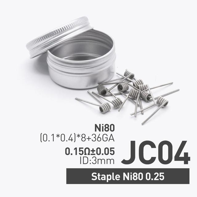 Staple Ni80 0.25ohm