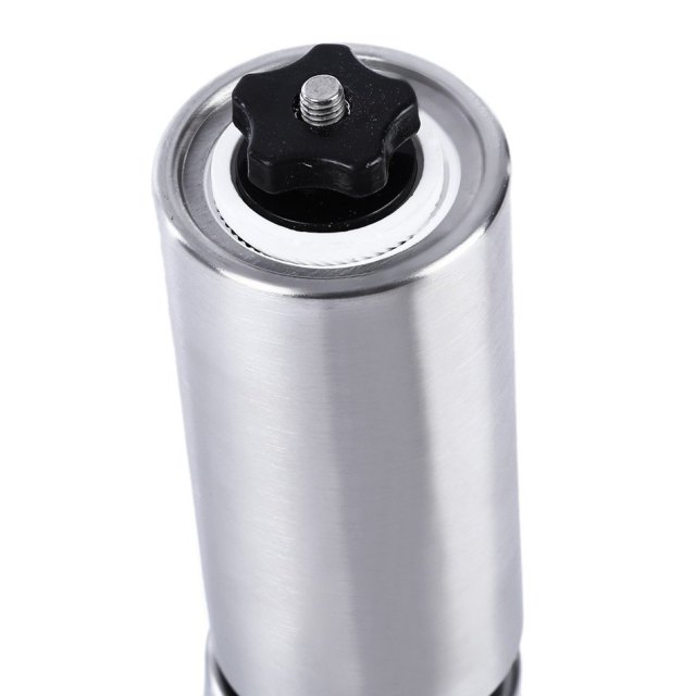 Portable Coffee Grinder Stainless Steel Ceramic Burr Hand Crank Manual Coffee Grinder for Coffee Lovers Mini Hand Mill for Home
