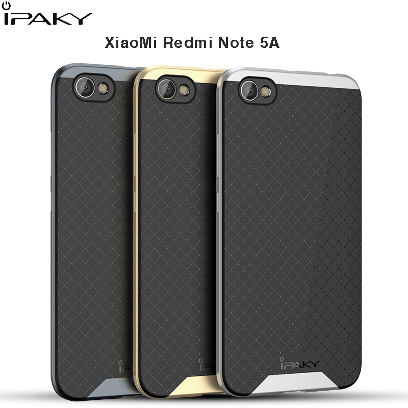 For Xiaomi Redmi Note 5A Ipaky Brand case PC Frame ...
