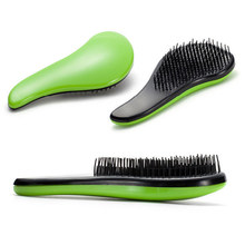 Dropshipping 2017 Magic Handle Tangle Detangling Comb Shower Hair Brush detangler Salon Styling Tamer exquite cute useful Tool(China)
