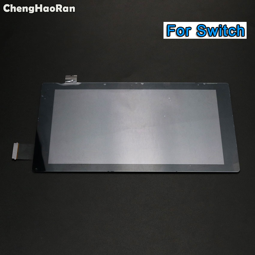 ChengHaoRan New Touch Screen for Nintendo Switch NS Console Touch Screen Digitizer Outer Panel Replacement(China)