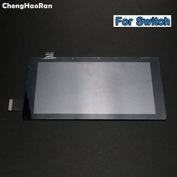 ChengHaoRan nowy ekran dotykowy do konsoli Nintendo Switch NS ekran dotykowy Digitizer wymiana panelu zewnętrznego