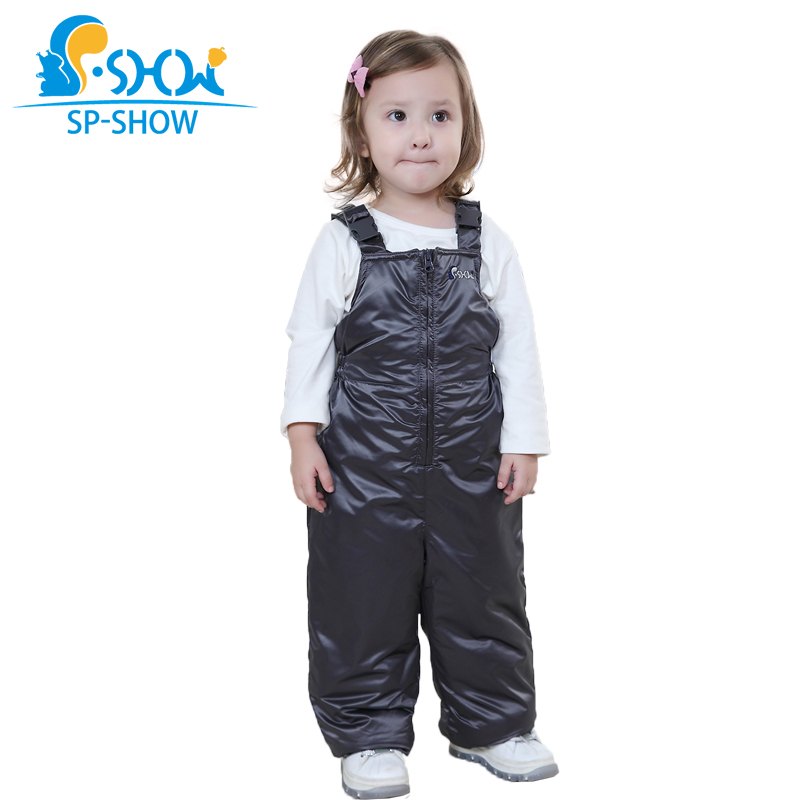 Outside The Children's Clothing In 2016 Boys And Girls Wear Suspenders Trousers Qiu Dong Season Warm Overalls стоимость