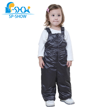 Outside The Children's Clothing In 2019 Boys And Girls Wear Suspenders Trousers Qiu Dong Season Warm Overalls