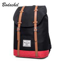 Bodachel Backpack Men Fashion Waterproof Oxford Travel Laptop Backpack College School Bags For Teenagers High Quality Male Bag