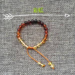 Image 5 - سوار Yoowei كهرمان البلطيق الأصلي من الخرز الباروكي قابل للتعديل من الكهرمان سوار مجوهرات كهرمان طبيعي Bijoux موردو مجوهرات