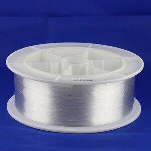 Image 3 - 12000 メートル/ロール光ファイバの高品質 0.25 ミリメートル PMMA プラスチック端グロー光ファイバ光ケーブル天井照明装飾