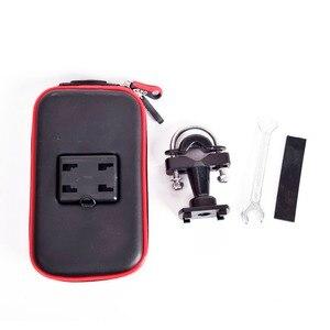 Image 5 - Newest Upgrade Waterproof Bag GPS Motorcycle Phone Holder Bag Bicycle Phone Holder Bike Handlebar Support Moto Mount Card Slots