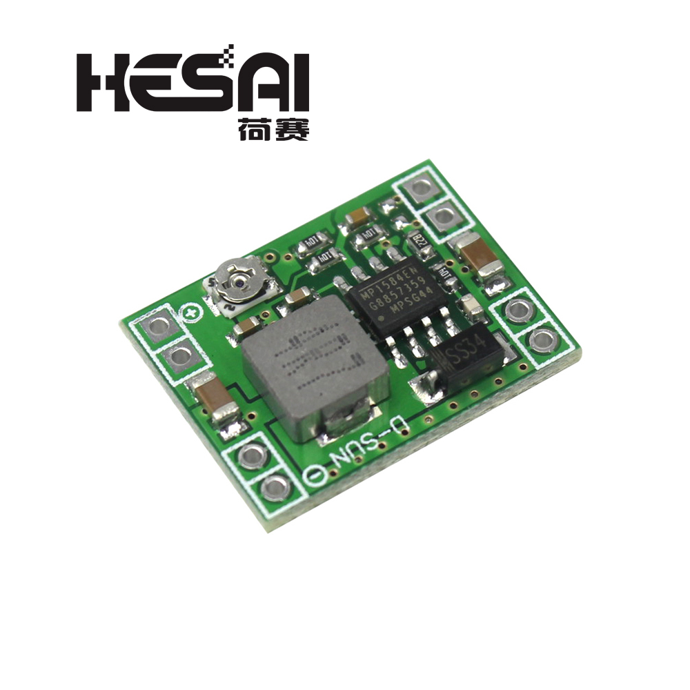 MP1584EN Ultra-small Size DC-DC Step-down Power Supply Module 3A Adjustable Step-down Module Super LM2596