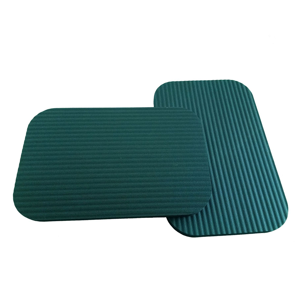 Pflasterformen Garten Knie Matte Plank Yoga Matte Kissen Knie Handgelenk Ellenbogen Pad Sitz Matratze Push-up Kissen Outdoor Sitz Matten 29x19x1,5 Cm