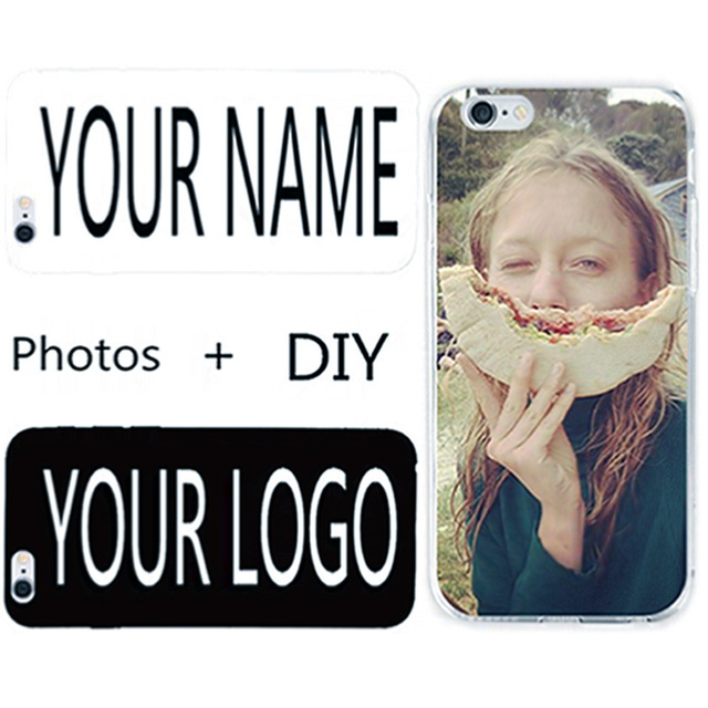 DIY Name Logo Photos Case For Lenovo A850 A 850 Cover Personalised Customized Printed Hard PC