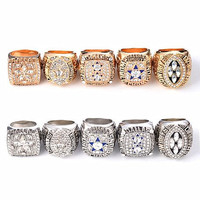 High Quality 5pcs Set Dallas Cowboys 1971 1977 1992 1994 1995 Champions Rings For Fan Collection