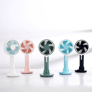 Image 1 - Mini fan usb charging three speed wind office desktop mute small fan outdoor portable usb handheld fan