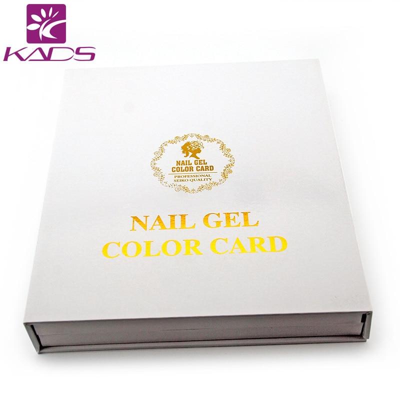 10pcset nail art salon display cards paint 120 color fingernail gel polish box show chart blank platter book tools nail tips - Copeaux De Bois Colors