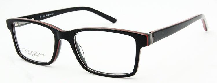 ESNBIE, классические очки для мужчин и женщин, оптические очки, итальянский дизайн, оригинальное качество, классические очки, бренд, оптика, оправа - Цвет оправы: eyeglasses frame BKR