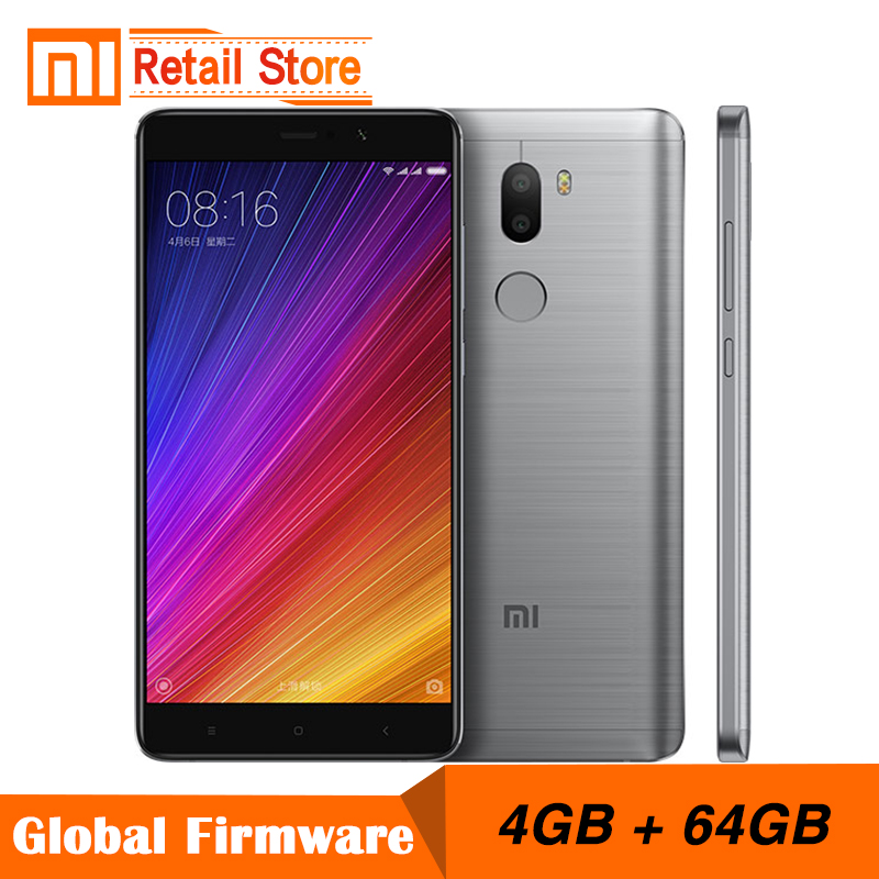 bilder für Original Xiaomi Mi5s Plus 4 GB RAM 64 GB ROM Mi5 S Plus Handys Snapdragon 821 Quad Core 5,7 ''Smartphone 13.0MP Duo Kamera