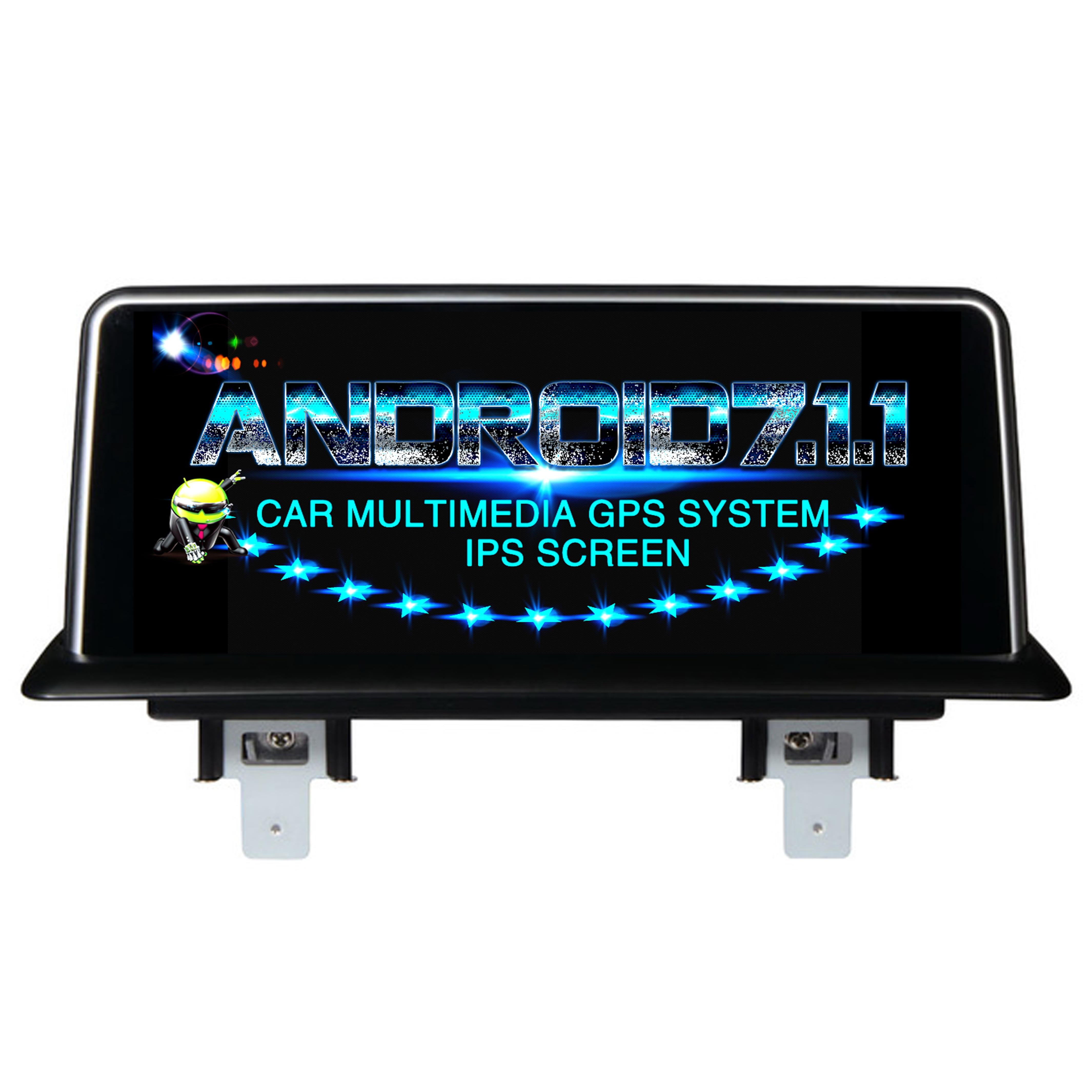 Android 7.1.1 lecteur DVD de voiture pour BMW E87 2006 2007 2008 2009 2010 2011 2012 moniteur audio de voiture récepteur stéréo ips écran