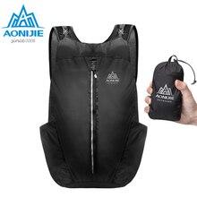 AONIJIE 25L Lightweight Nylon Foldable Backpack Waterproof Backpack Folding Bag Ultralight Outdoor Pack For Women Men цена