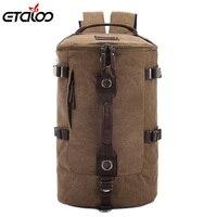 Large Capacity Man Travel Bag Outdoor Mountaineering Backpack Men Bags Hiking Camping Canvas Bucket Shoulder Bag