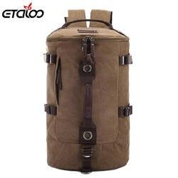 Большая емкость Мужская Дорожная сумка альпинизм рюкзак мужские сумки холст сумка на плечо рюкзак 012