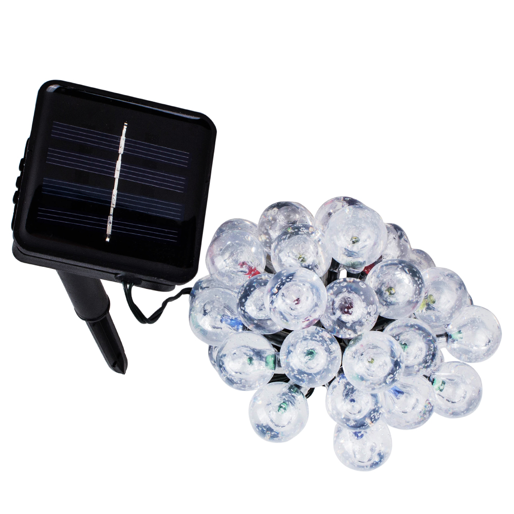 T-SUNRISE Solar String Lights Outdoor Lighting LED Decoration Fairy Light for Wedding Garden Yard Decorative Lamp