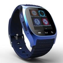 Montre Bluetooth elegante reloj M26 reloj de sincronización llamada de teléfono podómetro anti-perdida para Samsung Huawei Xiaomi Android Smartphone