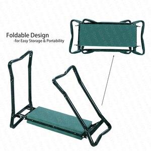 Image 4 - A, nueva gran oferta multifuncional plegable jardín Kneeler y asiento con 3 Bonus Tool Pouches teniendo 150KG