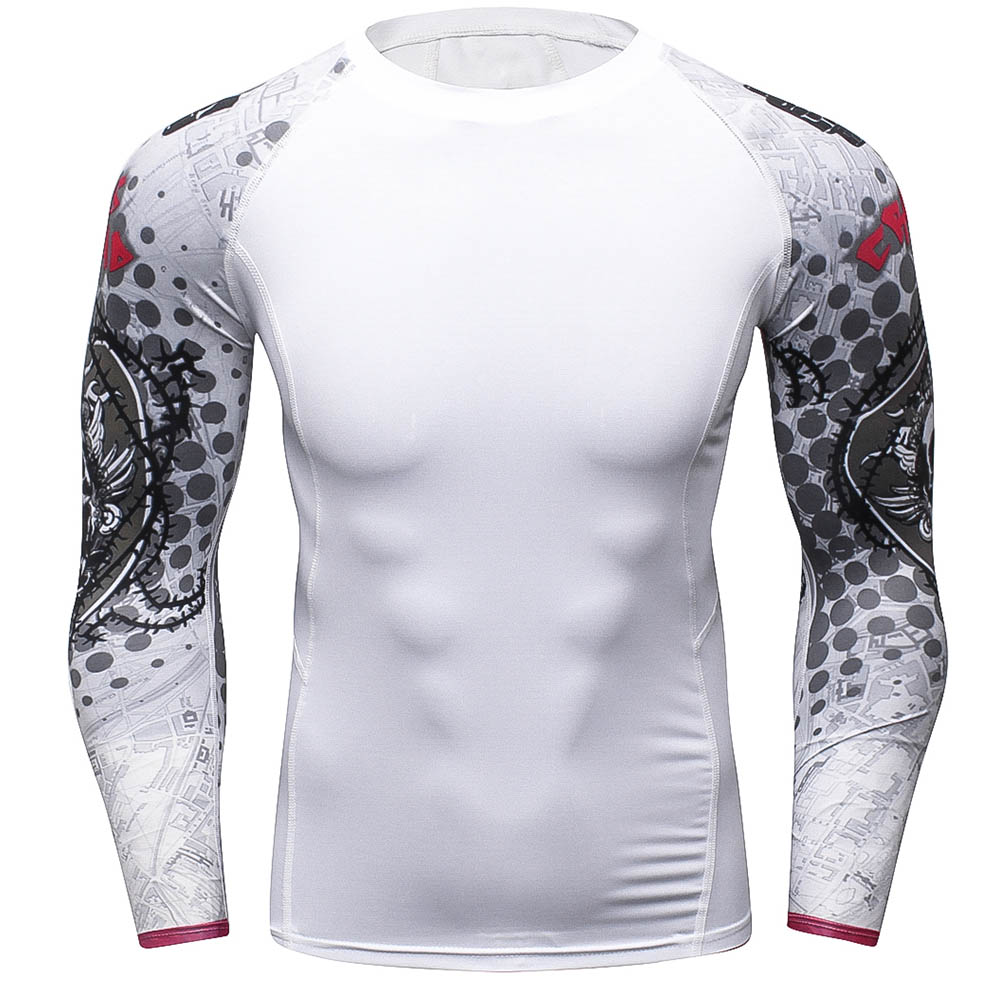Mens Boys Compression Body Base Layer Thermal Tight Top Long Sleeve ... 659734251c