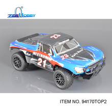 Rc Car HSP 1/10 Brushless EP R/C 4WD Off Road Rally Short Course Truck RTR Similar REDCAT HIMOTO Racing (item no 94170TOP) цена