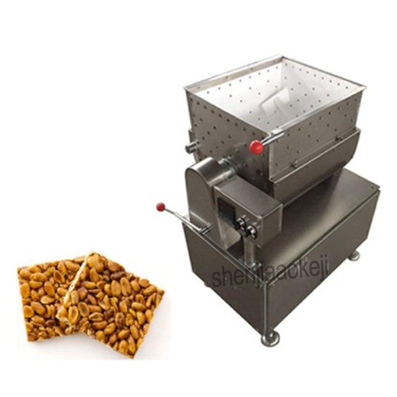 цена Rice candy mixer,Peanut candy mixing machine,cereal bar mixing machine Mixing equipment 220V/380V mix 1.5kw, heating 1.5k 1PC онлайн в 2017 году