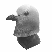 2018 Newest Realistic Hot Selling Halloween Cosplay Party Mask Animal  Latex Pigeon Costume