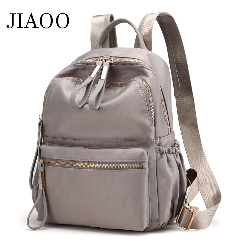 JIAOO Korean Ladies Knapsack Casual Travel Fashion Backpack Women Leisure Back Pack Bags For School Teenage Girls Bagpack
