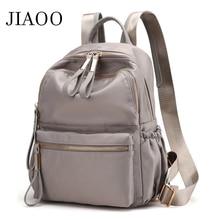 JIAOO Korean Ladies Knapsack Casual Travel Fashion Backpack Women