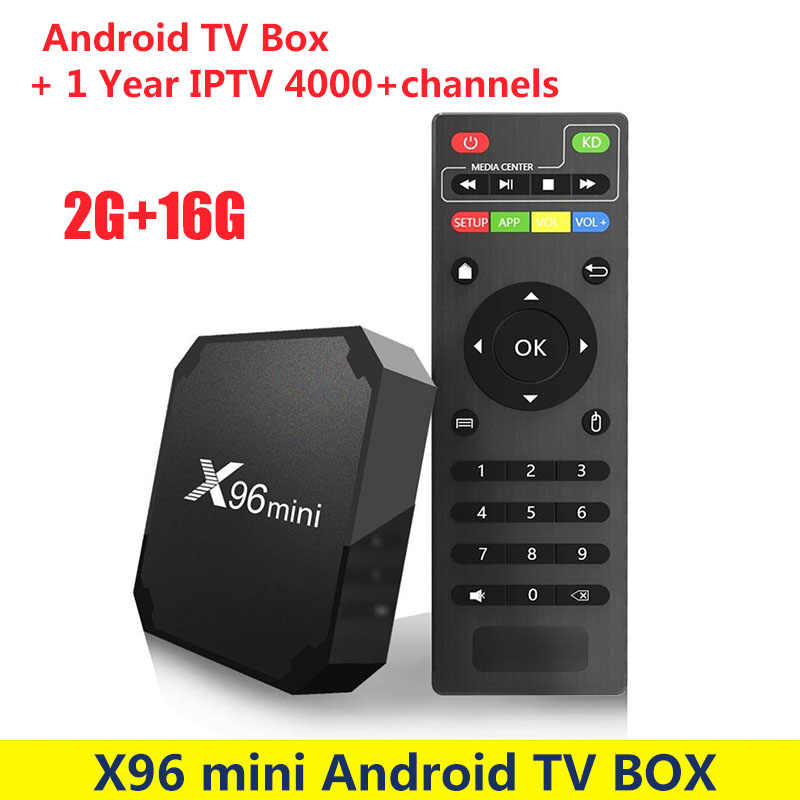 X96 Мини Android 7,1 tv Box с 1 год EVD tv IP tv подписка 4000 + каналы Европа Швеция арабский Франция, Италия с системой Neo IPTV