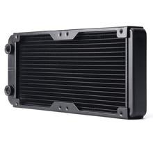 Computer Radiator Water Cooling Radiator 240MM Aluminum Water Cooler 18 Tubes Heat Exchanger CPU Heat Sink For Laptop Desktop