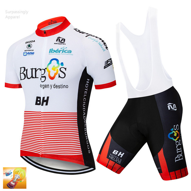 0df311804 2018 Pro UCI Team BH Cycling Jersey Short 16D Set MTB Bike Clothing Ropa  Ciclismo Bike