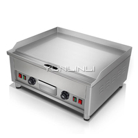 Commercial Electric Griddle Double Temperature Control Teppanyaki Equipment Multi-functional Electric Grill Pan EG650D-16
