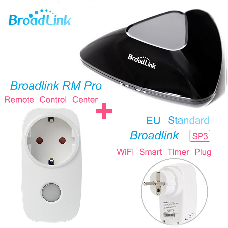 Broadlink RM PRO SP3 SP CC EU Standard Universal Remote switch Controller WiFI font b Smart