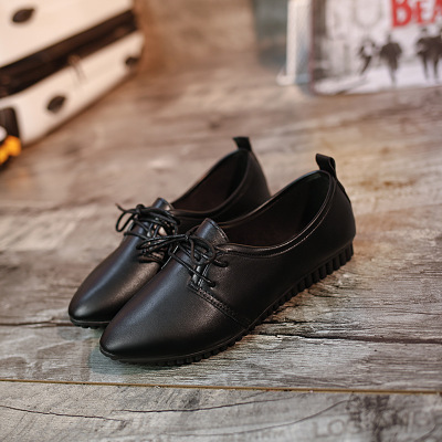 9ddb4a44a4ca Aliexpress.com   Buy Dropshipping Women Flats Shoes Casual Faux Suede white  pointed toe Lace Up Women Boat Shoes loafers Oxfords Platform from Reliable  ...