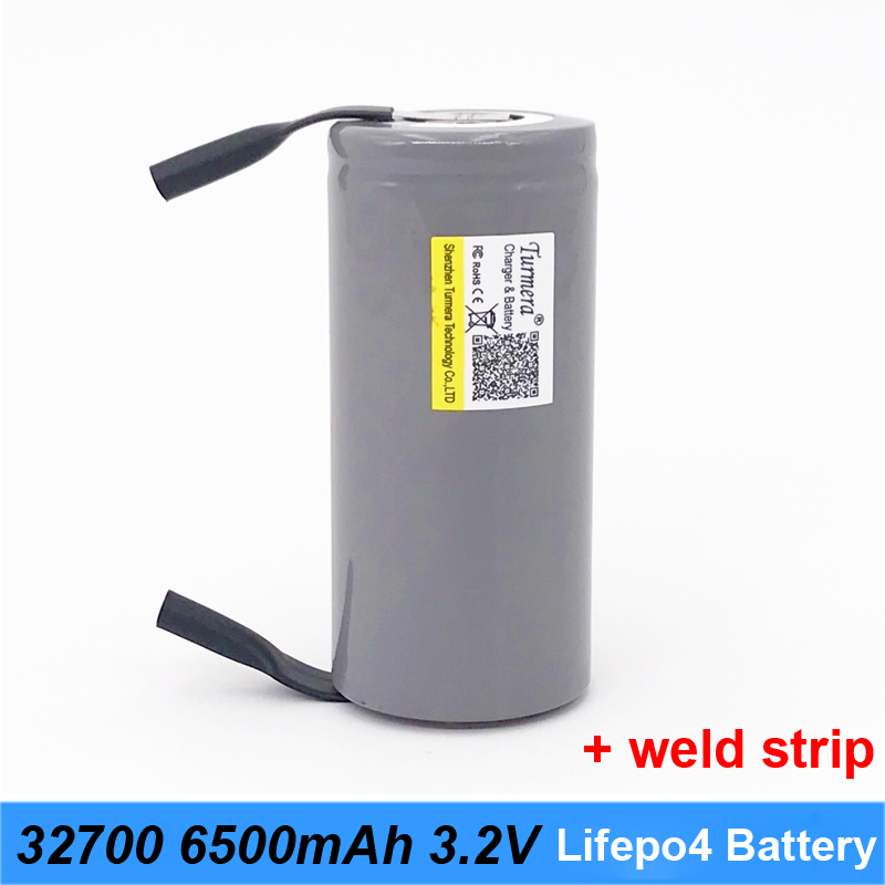 32700 battery charger 32700 lifepo4 3.2v 6500mah 33A 55A weld strip for screwdriver battery electric bike powered led lights O31|Replacement Batteries| |  -