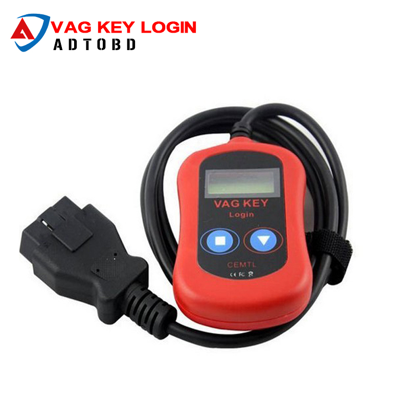 2017 High Quality VAG PIN Code Reader/Auto Key Programmer Device via OBD2 vag key login vag key programmer Free Shipping