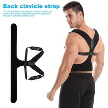 Breathable Back Clavicle Strap Relieve Pain Adjustable Posture Corrector High-quality sticker, free adjustment Easy to adjust