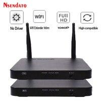 100 м Беспроводной HDMI удлинитель 2,4 ГГц/5 ГГц 1080 P Wi Fi HDMI 1,3 аудио видео отправитель приемник передатчик С ИК Поддержка HDCP1.4 HDTV
